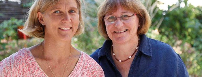 Ambulante Palliativschwestern Claudia Reifenberg und Maria Maul