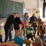 Buchpatenprojekt an der Burgschule