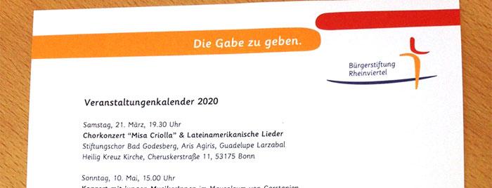 Veranstaltungs-Kalender © privat